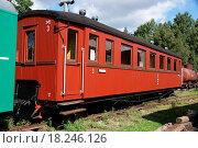 Купить «Passenger carriage», фото № 18246126, снято 18 октября 2018 г. (c) easy Fotostock / Фотобанк Лори