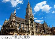 Купить «Neues Rathaus München», фото № 18246830, снято 23 января 2020 г. (c) easy Fotostock / Фотобанк Лори