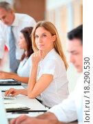 Купить «Business people working on computer», фото № 18290530, снято 19 сентября 2018 г. (c) easy Fotostock / Фотобанк Лори