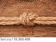 Купить «Rope with knots», фото № 18369498, снято 20 ноября 2018 г. (c) easy Fotostock / Фотобанк Лори