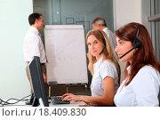 Купить «Business presentation», фото № 18409830, снято 17 ноября 2018 г. (c) easy Fotostock / Фотобанк Лори