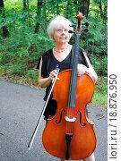 Купить «Female cellist.», фото № 18876950, снято 3 июля 2020 г. (c) easy Fotostock / Фотобанк Лори