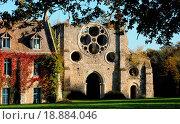 France, Yvelines, les Vaux de Cernay abbey. Стоковое фото, фотограф Hallé / easy Fotostock / Фотобанк Лори