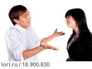 Arguing couple. Стоковое фото, фотограф Daniel Kaesler / easy Fotostock / Фотобанк Лори