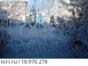 Купить «Eisblumen am Fenster», фото № 18970278, снято 16 июня 2019 г. (c) easy Fotostock / Фотобанк Лори