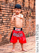 Купить «thai boxing or muay thai on location history», фото № 18973626, снято 21 августа 2018 г. (c) easy Fotostock / Фотобанк Лори