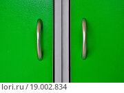 Купить «Door handles», фото № 19002834, снято 20 февраля 2019 г. (c) easy Fotostock / Фотобанк Лори