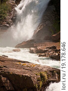 Купить «krimml waterfalls», фото № 19178646, снято 17 августа 2019 г. (c) easy Fotostock / Фотобанк Лори