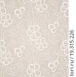 Купить «Excellent swirl floral seamless background», фото № 19315226, снято 28 января 2020 г. (c) easy Fotostock / Фотобанк Лори