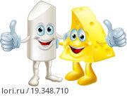 Купить «Chalk and cheese friends», фото № 19348710, снято 22 марта 2019 г. (c) easy Fotostock / Фотобанк Лори
