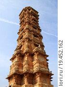 Купить «Closer view of Vijay Sthambh», фото № 19452162, снято 26 сентября 2018 г. (c) PantherMedia / Фотобанк Лори