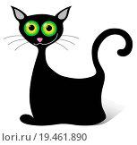 Купить «black cat», фото № 19461890, снято 19 августа 2018 г. (c) easy Fotostock / Фотобанк Лори
