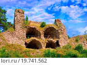 Купить «Ruins Zubstejn, Southern Moravia, Czech Republic, Central Europe», фото № 19741562, снято 19 декабря 2018 г. (c) easy Fotostock / Фотобанк Лори