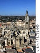 Купить «Вид на Толедо с высоты», фото № 19782646, снято 24 августа 2012 г. (c) Шилер Анастасия / Фотобанк Лори