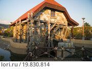 Водяная мельница (2015 год). Редакционное фото, фотограф Александр Сосюра / Фотобанк Лори