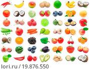 Купить «Fruits and Vegetables», фото № 19876550, снято 22 июня 2018 г. (c) easy Fotostock / Фотобанк Лори