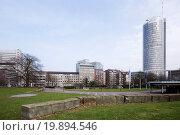 Купить «RWE-Tower in Essen, Germany», фото № 19894546, снято 20 июля 2019 г. (c) easy Fotostock / Фотобанк Лори