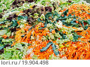 Купить «waste and cups of vegetables», фото № 19904498, снято 16 июля 2019 г. (c) easy Fotostock / Фотобанк Лори