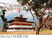 Chimi lhakhang temple. Стоковое фото, фотограф Zoonar/takepicsforfu / easy Fotostock / Фотобанк Лори