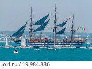Купить «Ship Amerigo Vespucci», фото № 19984886, снято 3 августа 2020 г. (c) easy Fotostock / Фотобанк Лори