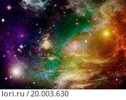 Far away galaxy. Стоковое фото, фотограф Zoonar/A.Vasiliev / easy Fotostock / Фотобанк Лори