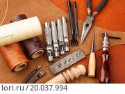 Купить «DIY leather craft tool», фото № 20037994, снято 13 июля 2013 г. (c) easy Fotostock / Фотобанк Лори