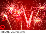 Купить «Five minutes to twelve and firework», фото № 20106346, снято 3 марта 2011 г. (c) Александр Подшивалов / Фотобанк Лори