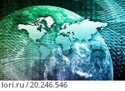 Купить «Security Network Data of the World Background», фото № 20246546, снято 13 июня 2011 г. (c) easy Fotostock / Фотобанк Лори