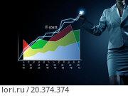 Купить «Average sales report», фото № 20374374, снято 28 февраля 2013 г. (c) Sergey Nivens / Фотобанк Лори