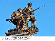 Monument to Heroes of First world war. Kaliningrad. Редакционное фото, фотограф Zoonar/Sergei Trofim / easy Fotostock / Фотобанк Лори