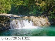 Водопад близ Сочи. Стоковое фото, фотограф Александр Лещинский / Фотобанк Лори