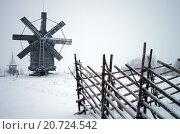 Карелия, Кижи, Россия - января 2016:  музей под открытым небом. Редакционное фото, фотограф Natalya Sidorova / Фотобанк Лори