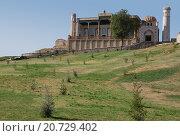 Купить «Вид на холм с  Мечетью Хазрет-Хызр. Самарканд.», фото № 20729402, снято 22 сентября 2007 г. (c) Elizaveta Kharicheva / Фотобанк Лори
