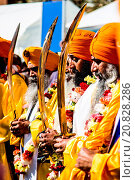 Купить «David and Samantha Cameron visit a Sikh temple in Gravesend, Kent, to join in celebrations for the spring festival of Vaisakhi Featuring: Atmosphere Where...», фото № 20828286, снято 18 апреля 2015 г. (c) age Fotostock / Фотобанк Лори