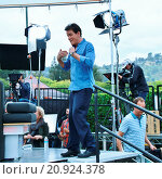 Купить «Charlie Sheen come to Universal Studios Hollywood for an appearance on Extra May 12, 2015 Universal City, CA. Featuring: Charlie Sheen Where: Los Angeles...», фото № 20924378, снято 12 мая 2015 г. (c) age Fotostock / Фотобанк Лори