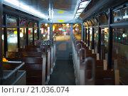 Салон трамвая, Гонконг. Стоковое фото, фотограф Юрий Александров / Фотобанк Лори