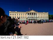 Купить «Norwegian Constitution Day at royal palace», фото № 21047182, снято 4 июля 2020 г. (c) age Fotostock / Фотобанк Лори