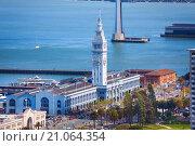 Порт в Сан Франциско (2015 год). Стоковое фото, фотограф Сергей Новиков / Фотобанк Лори