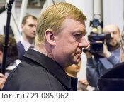 Анатолий Чубайс (2013 год). Редакционное фото, фотограф Игорь Малеев / Фотобанк Лори