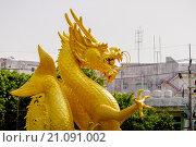 Купить «Золотой Дракон, Пхукет-таун, Таиланд», эксклюзивное фото № 21091002, снято 25 октября 2015 г. (c) Хайрятдинов Ринат / Фотобанк Лори
