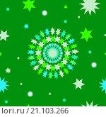 Купить «Абстрактный бесшовный фон в зеленых тонах», иллюстрация № 21103266 (c) Алёшина Оксана / Фотобанк Лори