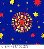 Купить «Абстрактная бесшовная текстура», иллюстрация № 21103278 (c) Алёшина Оксана / Фотобанк Лори