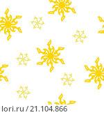 Купить «Абстрактный бесшовный фон в желтых тонах», иллюстрация № 21104866 (c) Алёшина Оксана / Фотобанк Лори