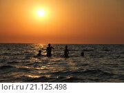 Небо над Азовским морем. Стоковое фото, фотограф Себелева Марина / Фотобанк Лори