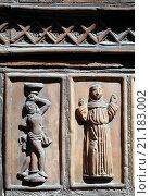 Купить «Neuruppin, Hospitalkapelle St. Lazarus, /Südportal», фото № 21183002, снято 20 октября 2019 г. (c) age Fotostock / Фотобанк Лори