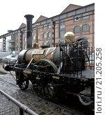 Купить «Manchester. Museum of Sience and Industry. Dampflok PLanet, Original von 1834, Nachbau von 1992», фото № 21205258, снято 20 ноября 2019 г. (c) age Fotostock / Фотобанк Лори
