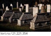 Купить «Krakau, jüdischer Friedhof Remuh», фото № 21221354, снято 22 сентября 2010 г. (c) age Fotostock / Фотобанк Лори