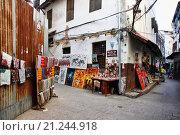 Купить «Стоун Таун. Занзибар», фото № 21244918, снято 1 января 2016 г. (c) Морозова Татьяна / Фотобанк Лори