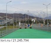Купить «Олимпийский парк Сочи», фото № 21245794, снято 24 января 2016 г. (c) DiS / Фотобанк Лори