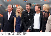 Купить «The cast of the new reality show 'Stewarts & Hamiltons' arrive for an interview on 'Extra' at Universal City Walk Featuring: George Hamilton, Alana Stewart...», фото № 21257194, снято 23 июля 2015 г. (c) age Fotostock / Фотобанк Лори